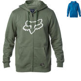 Fox Racing District 3 Zip Fleece Hoodie