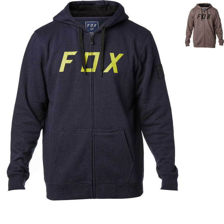 Fox Racing District 2 Zip Fleece Hoodie
