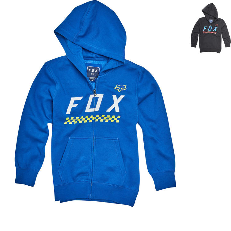 Fox Racing Youth Full Mass Zip Fleece Hoodie