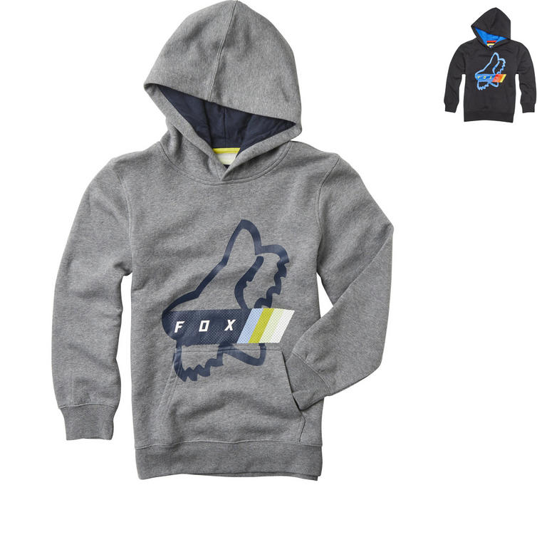 Fox Racing Youth Fourth Division Pullover Fleece Hoodie