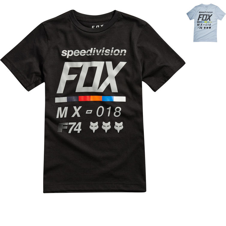 Fox Racing Youth Draftr Short Sleeve T-Shirt