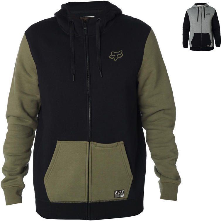 Fox Racing Win Mob Zip Fleece Hoodie