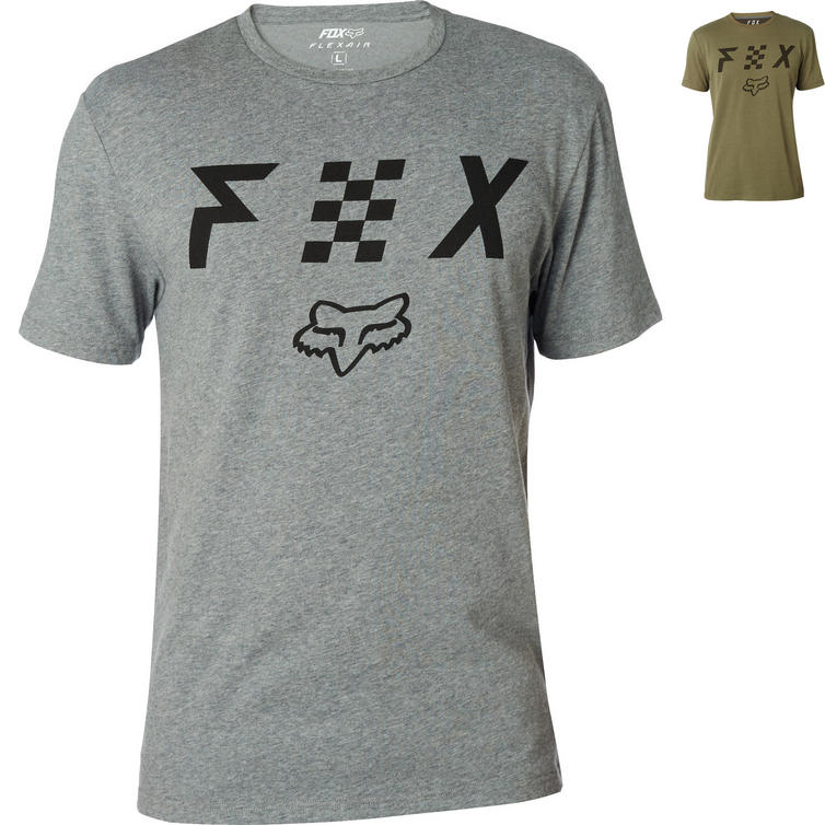 Fox Racing Scrubbed Short Sleeve Airline T-Shirt