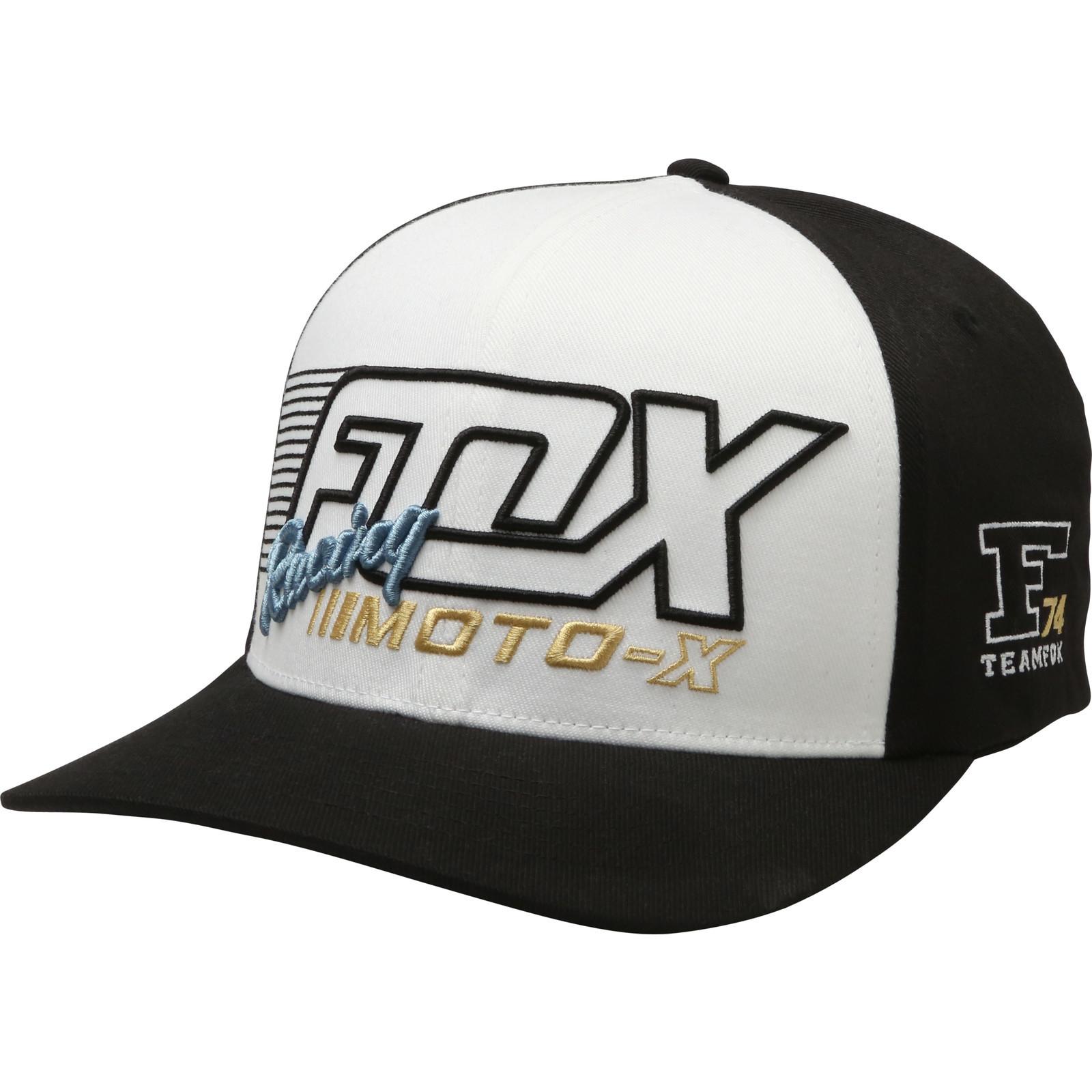 149ceb86c55 Fox Racing Flection Flexfit Cap Mens Moto-X Biker Baseball Hat ...
