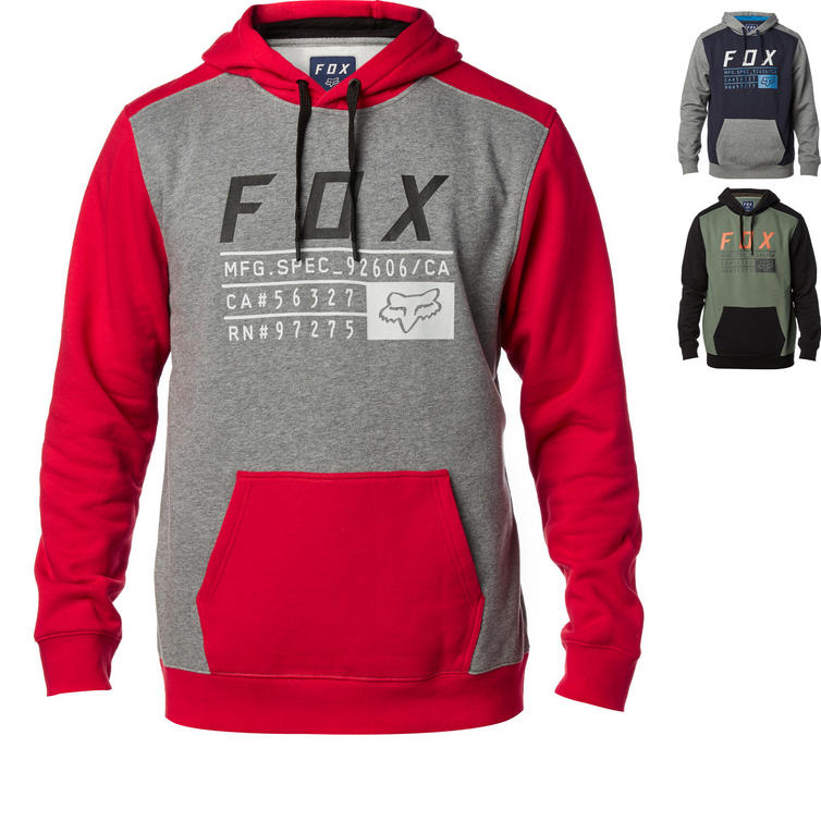 Fox Racing District 3 Pullover Fleece Hoodie