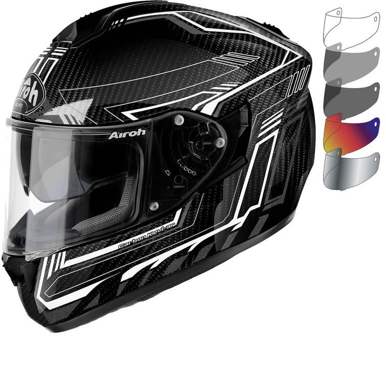 Airoh ST 701 Safety Full Carbon Motorcycle Helmet & Visor