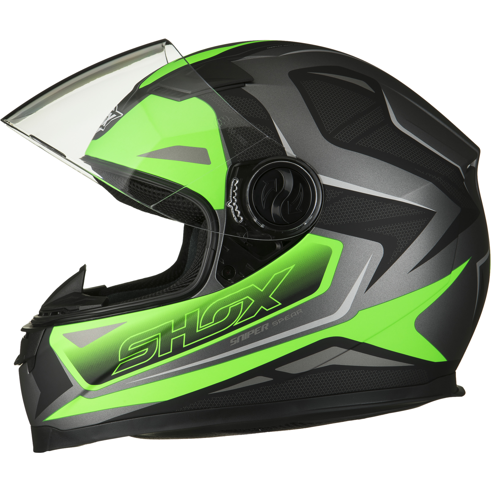 Shox Sniper Spear Motorrad Helm