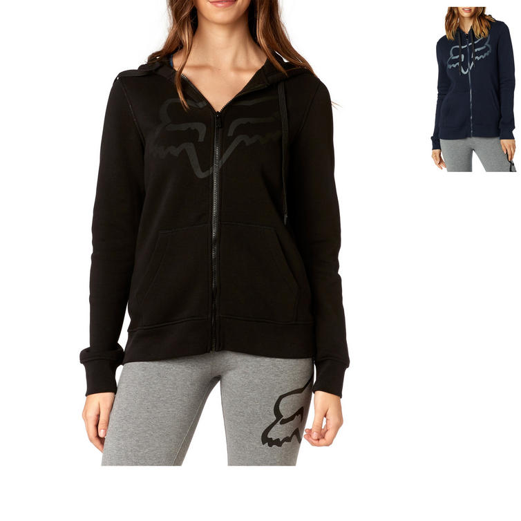 Fox Racing Ladies Certain Zip Fleece Hoodie