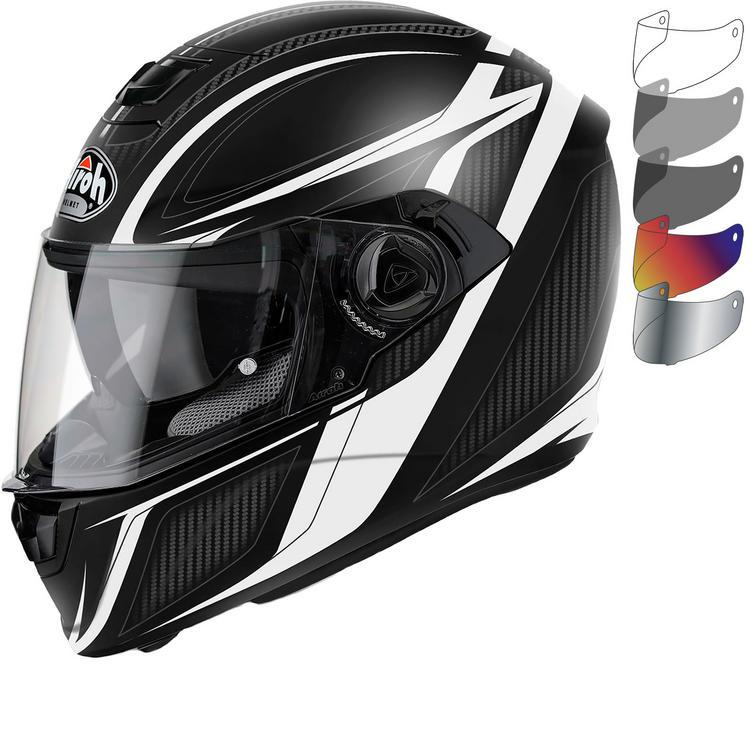Airoh Storm Sharpen Motorcycle Helmet & Visor