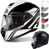 Airoh Storm Sprinter Motorcycle Helmet & Visor