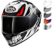 Airoh Valor Bone Motorcycle Helmet & Visor