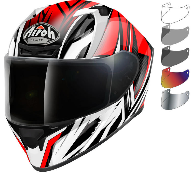 89bbc229 Airoh Valor Conquer Motorcycle Helmet & Visor - New Arrivals -  Ghostbikes.com