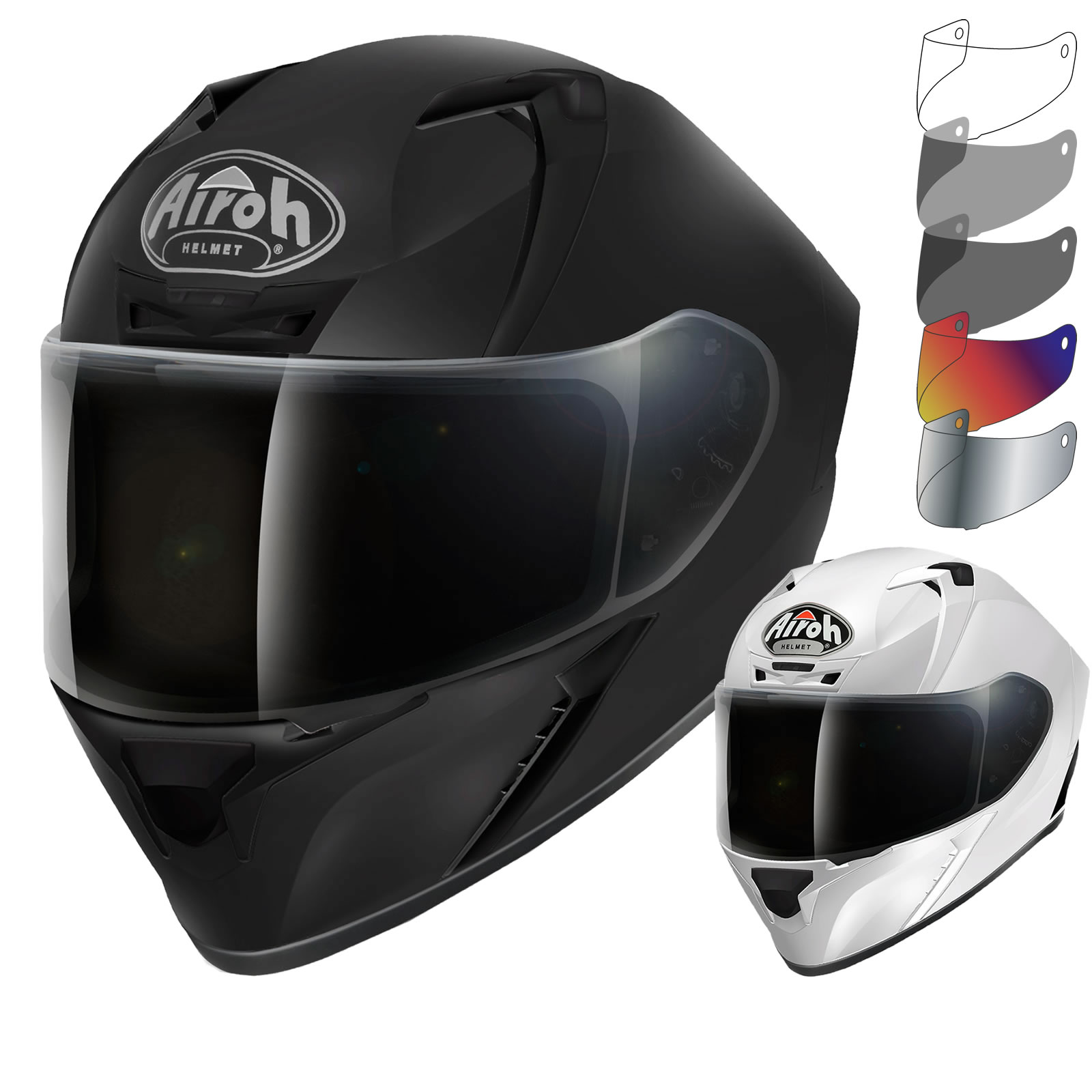 Airoh Valor Color Motorcycle Helmet & Visor New Arrivals