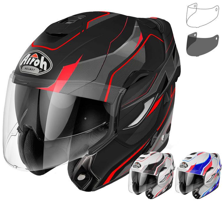 Airoh Rev Revolution Flip Front Motorcycle Helmet & Visor