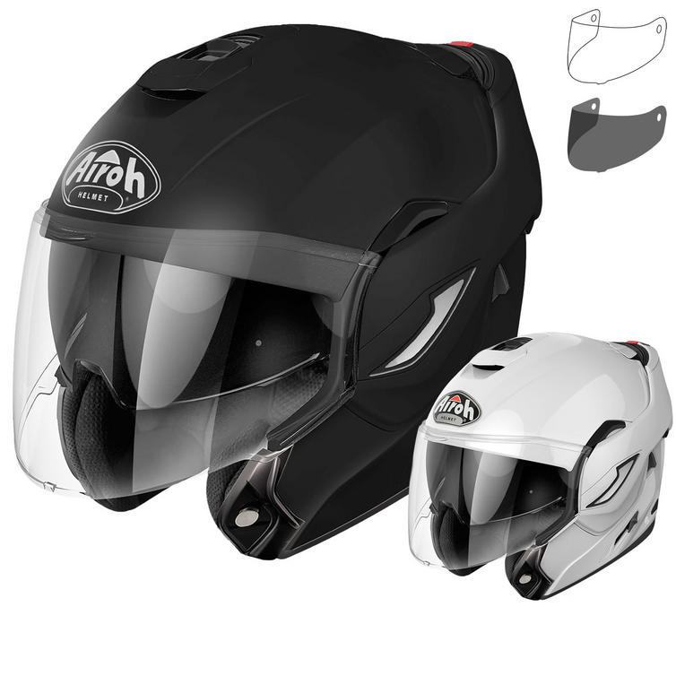 Airoh Rev Color Flip Front Motorcycle Helmet & Visor