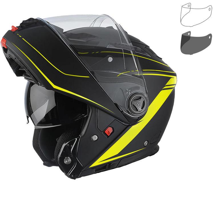 Airoh Phantom S Lead Flip Front Motorcycle Helmet & Visor