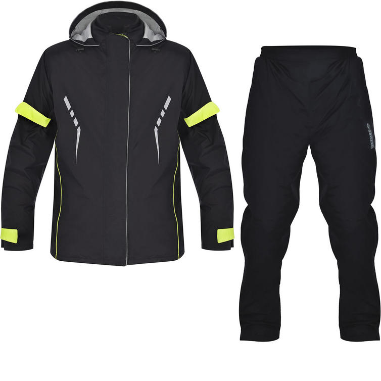 Oxford Stormseal Motorcycle Over Jacket & Trousers Black Kit