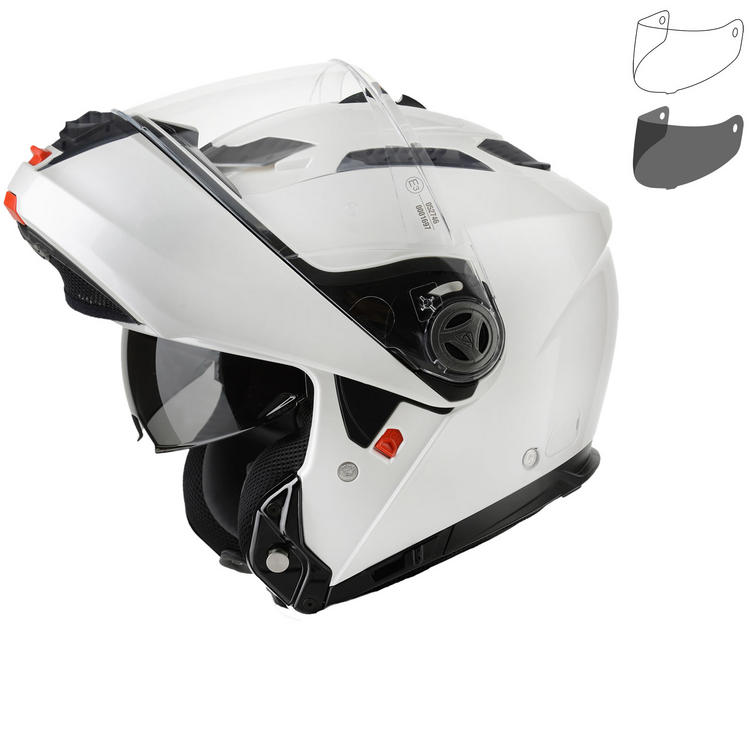 Airoh Phantom S Color Flip Front Motorcycle Helmet & Visor