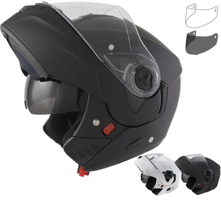 Airoh Rides Color Flip Front Motorcycle Helmet & Visor
