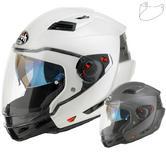 Airoh Executive Color Convertible Motorcycle Helmet & Visor