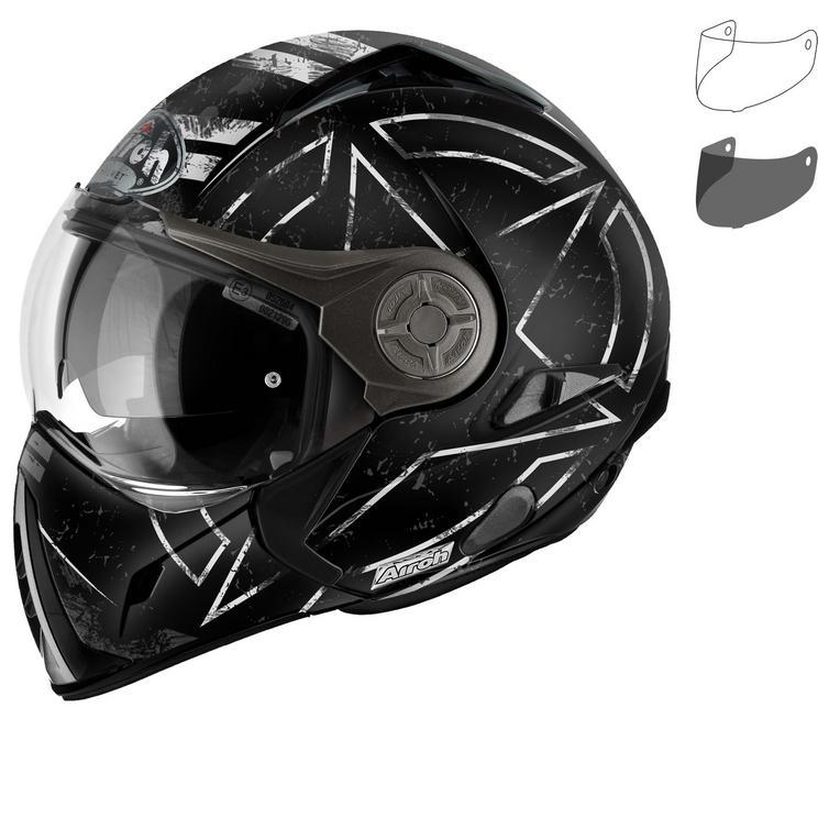 Airoh J 106 Command Convertible Motorcycle Helmet & Visor