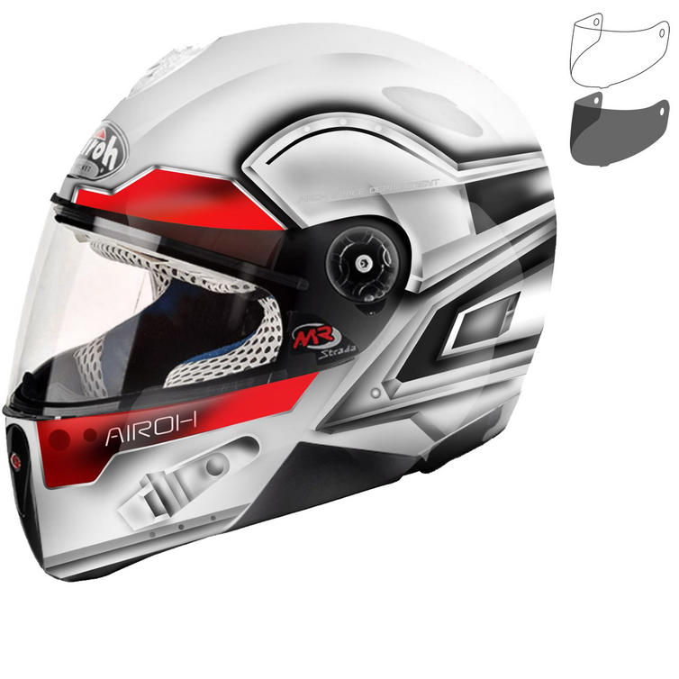 Airoh Mr Strada Junior Motorcycle Helmet & Visor