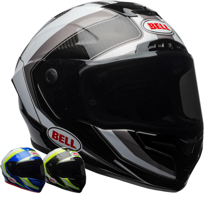 Bell Race Star Sector Motorcycle Helmet