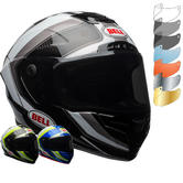 Bell Race Star Sector Motorcycle Helmet & FREE Dark Smoke Visor