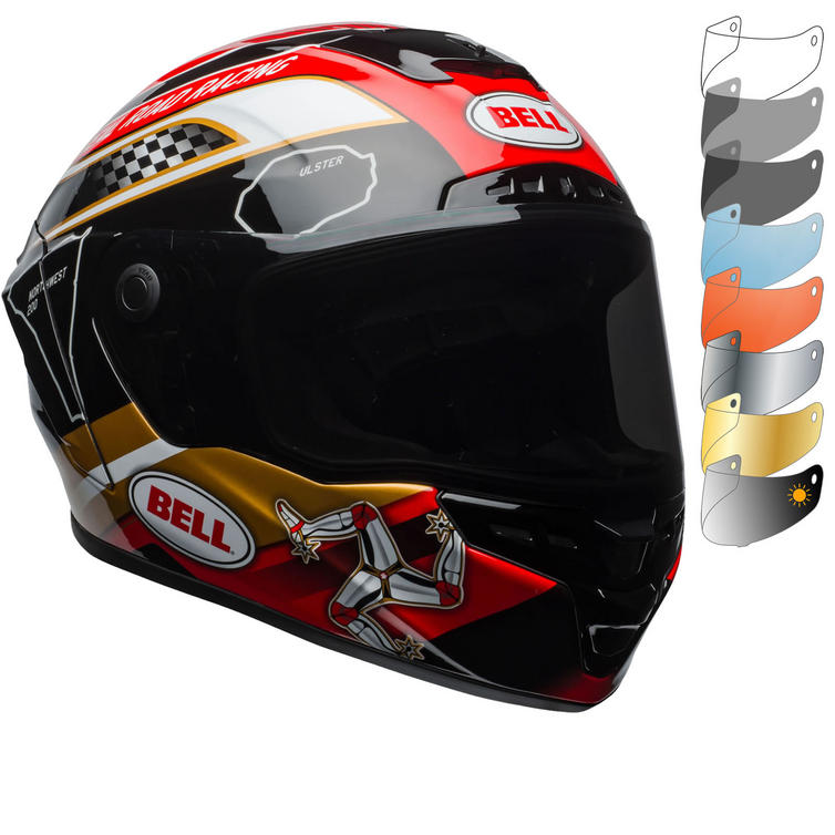Bell Star MIPS Isle of Man Motorcycle Helmet & Visor