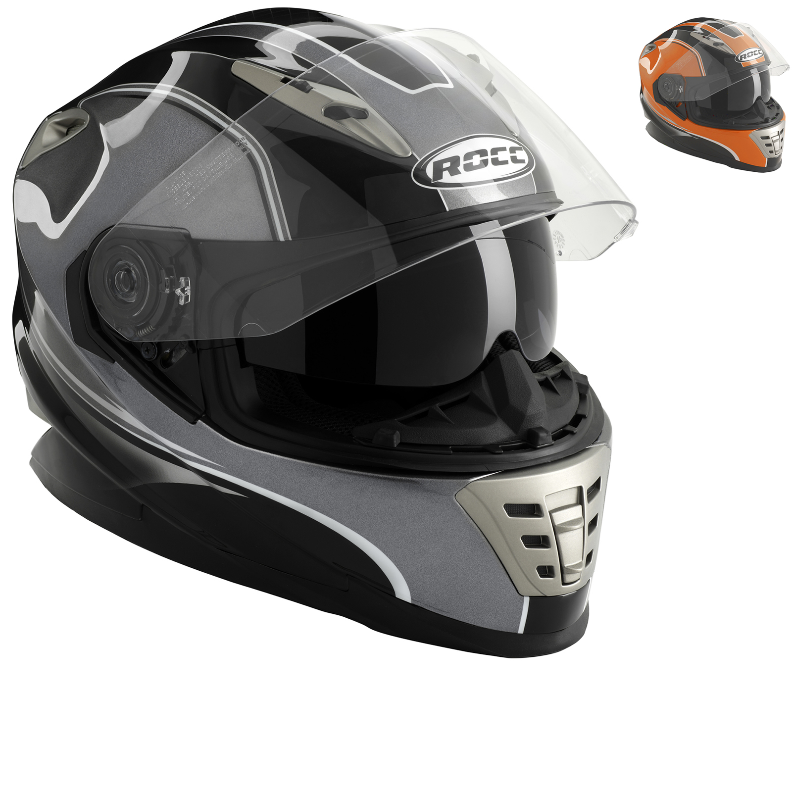 ROCC 485 Motorcycle Helmet Full Face Helmets Ghostbikes