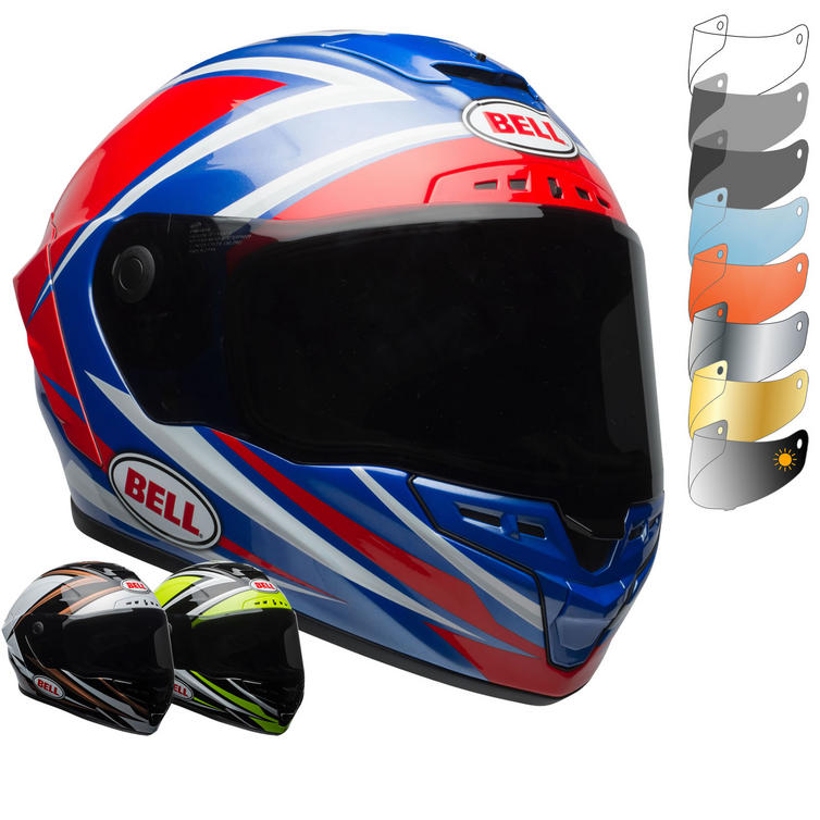 Bell Star MIPS Torsion Motorcycle Helmet & FREE Dark Smoke Visor