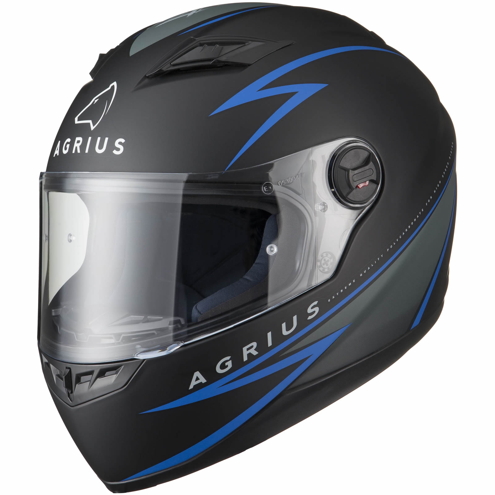 Agrius Rage Fuse Motorcycle Helmet Visor Bike Rider Full Face