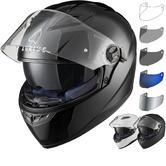 Agrius Rage SV Solid Motorcycle Helmet & Visor
