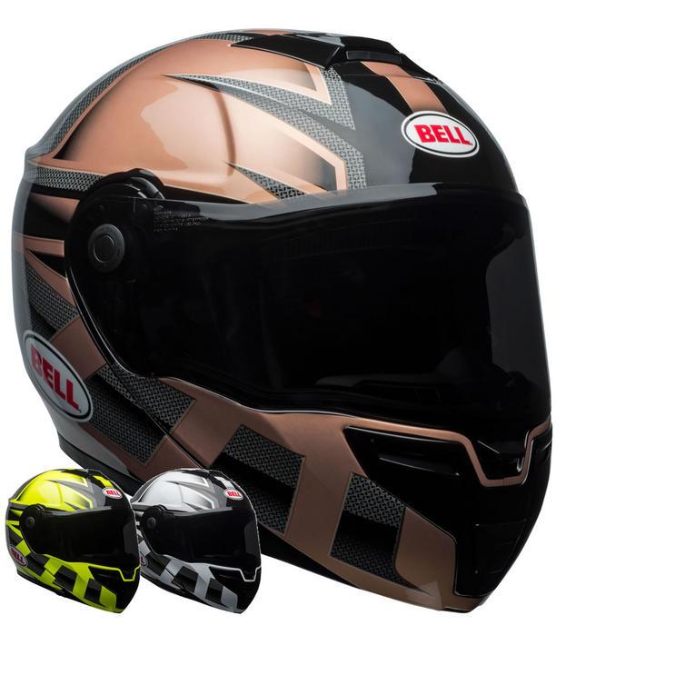 Bell SRT Flip Front Predator Motorcycle Helmet