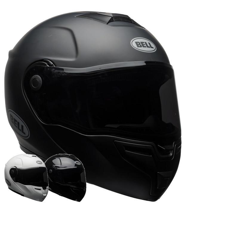 Bell SRT Flip Front Solid Motorcycle Helmet