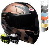 Bell SRT Flip Front Predator Motorcycle Helmet & Visor