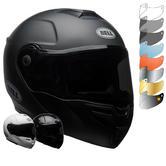 Bell SRT Flip Front Solid Motorcycle Helmet & Visor