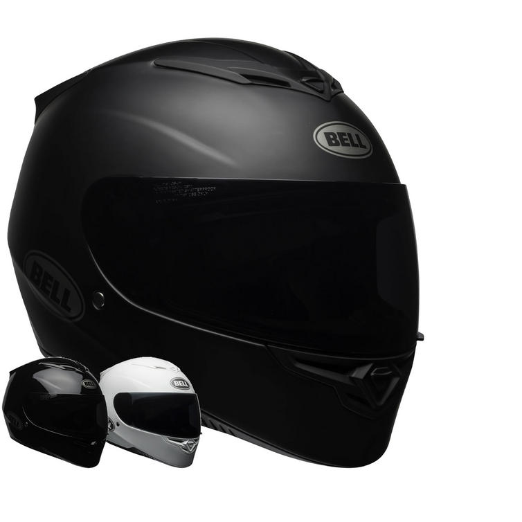 Bell RS-2 Solid Motorcycle Helmet