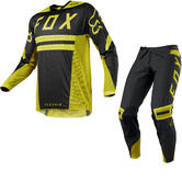 Fox Racing Flexair Preest Motocross Jersey & Pants Dark Yellow Kit