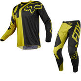 Fox Racing 360 Preme Motocross Jersey & Pants Dark Yellow Kit