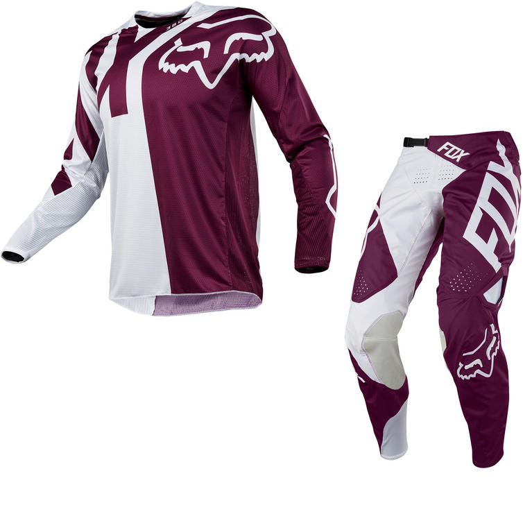 Fox Racing 360 Preme Motocross Jersey & Pants Purple Kit