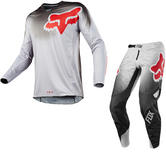 Fox Racing 360 Viza Motocross Jersey & Pants Grey Kit