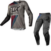 Fox Racing 360 Draftr Motocross Jersey & Pants Charcoal Kit