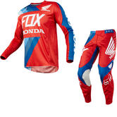 Fox Racing 360 Honda Motocross Jersey & Pants Red Kit