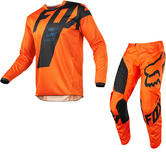 Fox Racing 180 Mastar Motocross Jersey & Pants Orange Kit