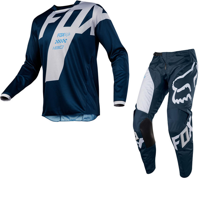 Fox Racing 180 Mastar Motocross Jersey & Pants Navy Kit