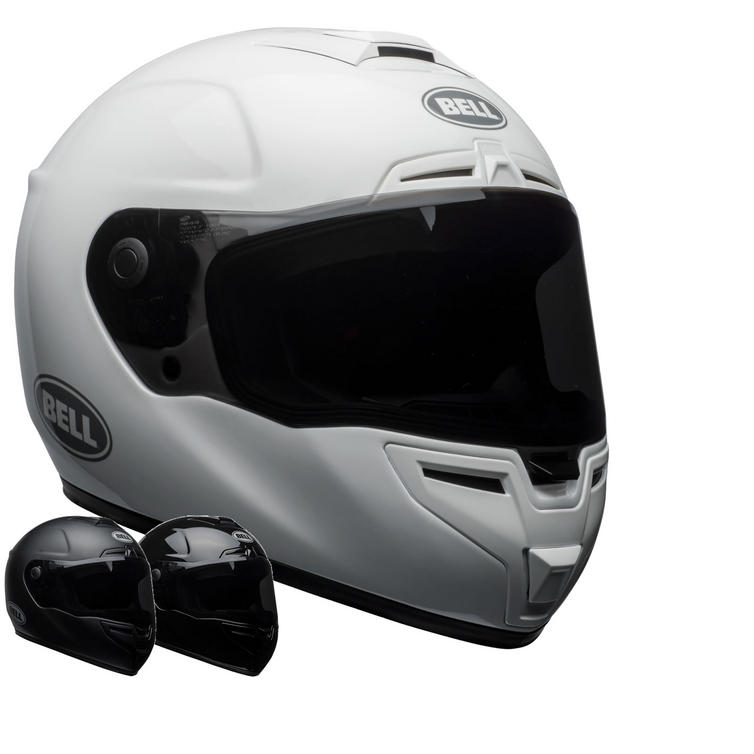 Bell SRT Solid Motorcycle Helmet