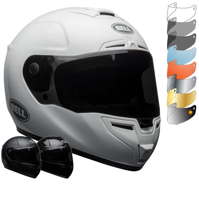 Bell SRT Solid Motorcycle Helmet & Visor