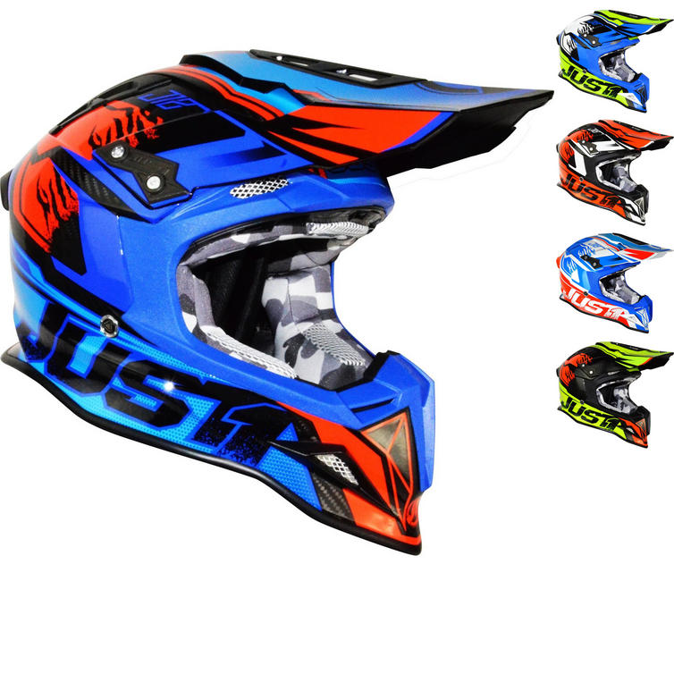 Just1 J12 Dominator Carbon Motocross Helmet