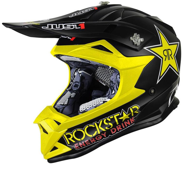 Just1 J32 Pro Rockstar Motocross Helmet